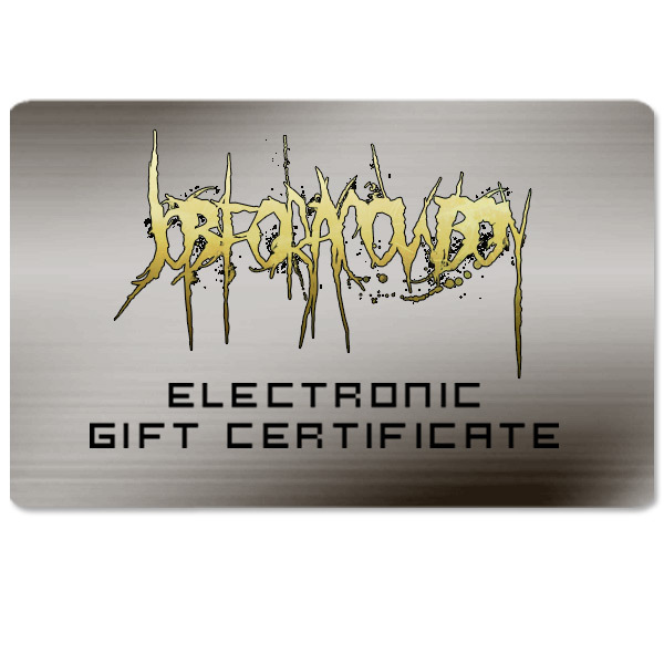 Job for a Cowboy Electronic Gift Certificate