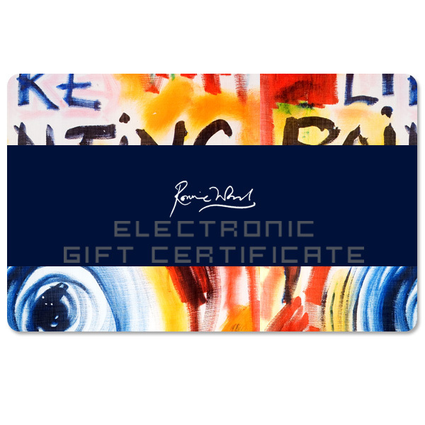 Ronnie Wood Electronic Gift Certificate