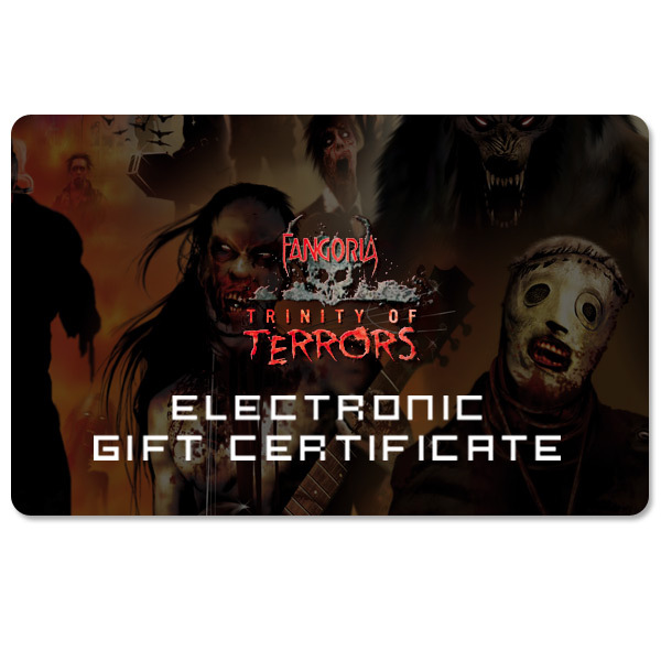Trinity of Terrors Electronic Gift Certificate