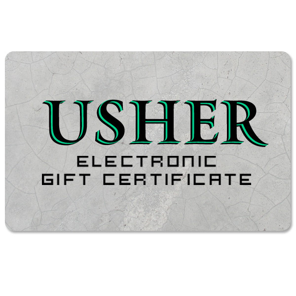 Usher Electronic Gift Certificate