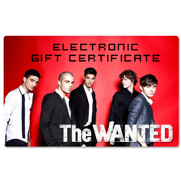The Wanted Electronic Gift Certificate