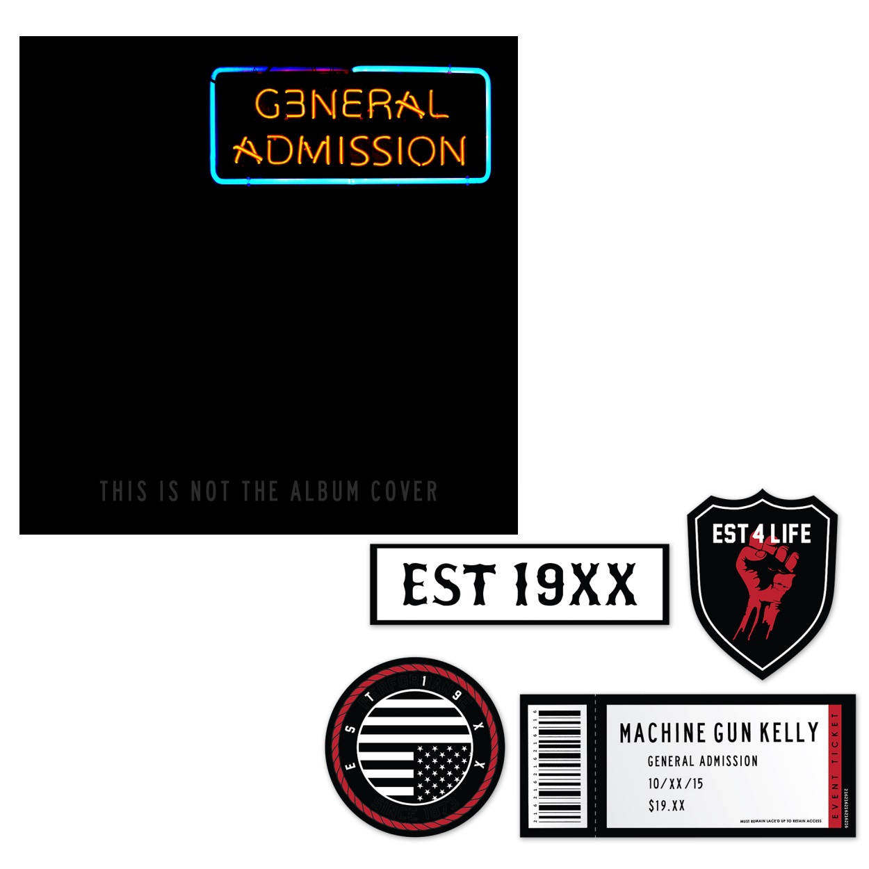 machine gun general admission review