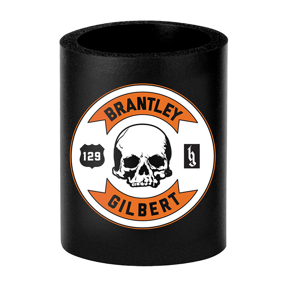 Skull Circle Coozie