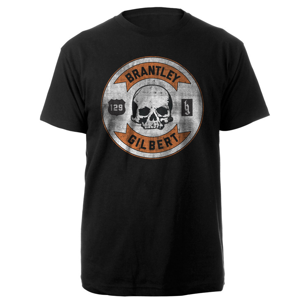 Brantley Gilbert Circle Skull Tee