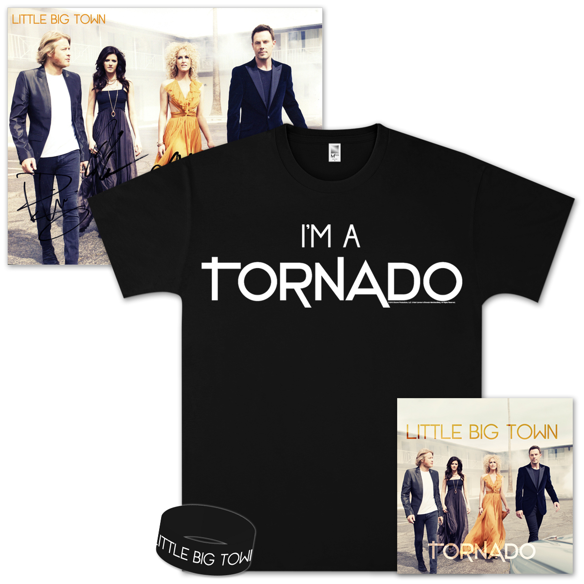 Little Big Town Tornado Gold Bundle