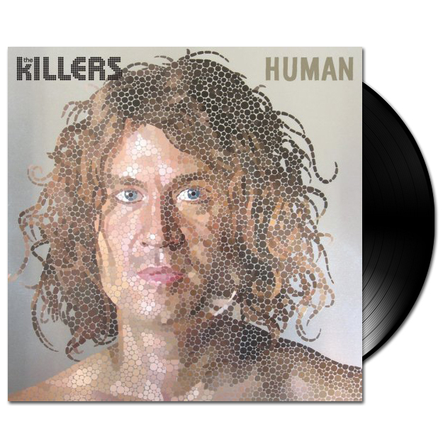 "Killers Human/Crippling Blow 7"" White Vinyl Single"