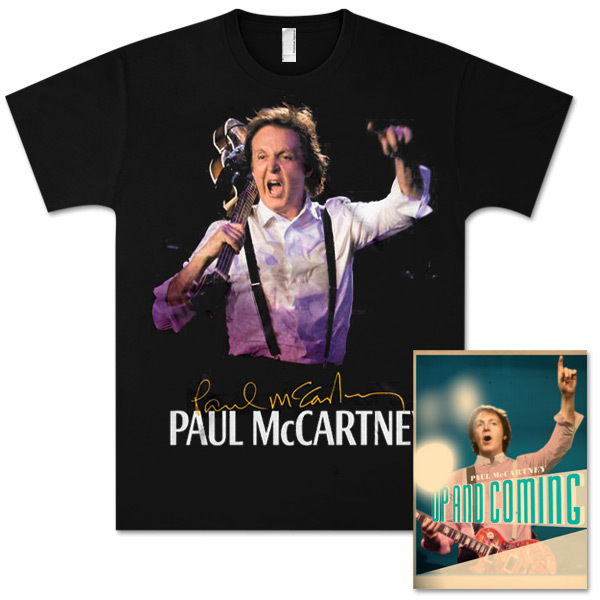 Paul McCartney Up and Coming Phoenix Event T-Shirt and Tour Programme Bundle