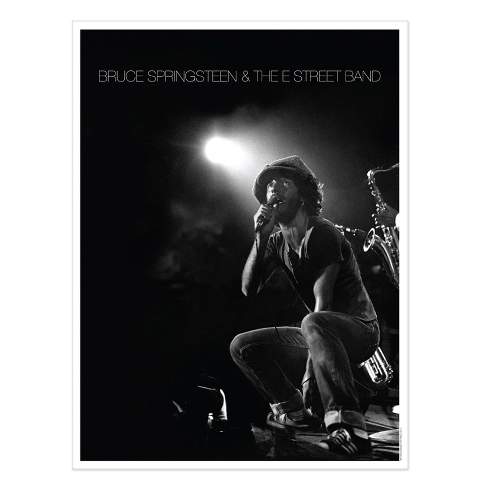 Exclusive Lithographic Print - Live At The Bottom Line In NYC, 1975 (1-500)
