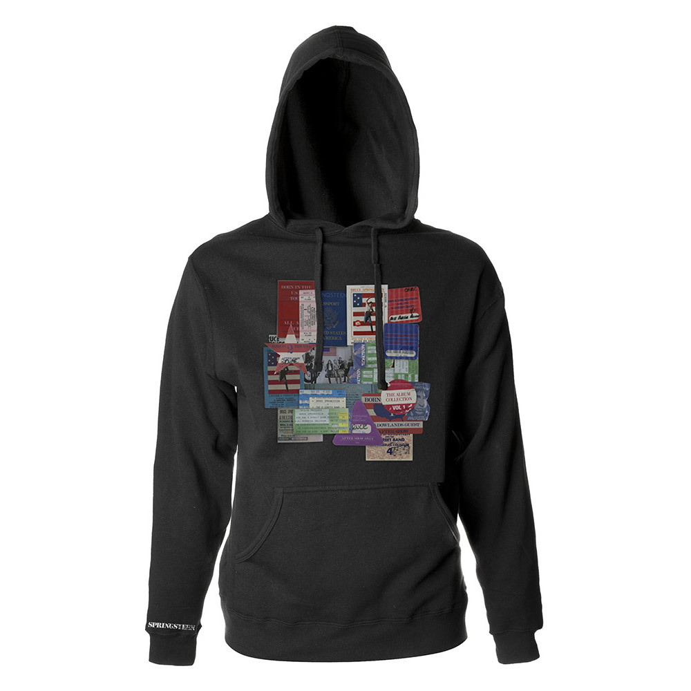 Bruce Springsteen All Access Passes Pullover Hoodie