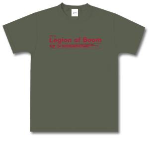 Green Short Sleeved Legion of Boom T-Shirt