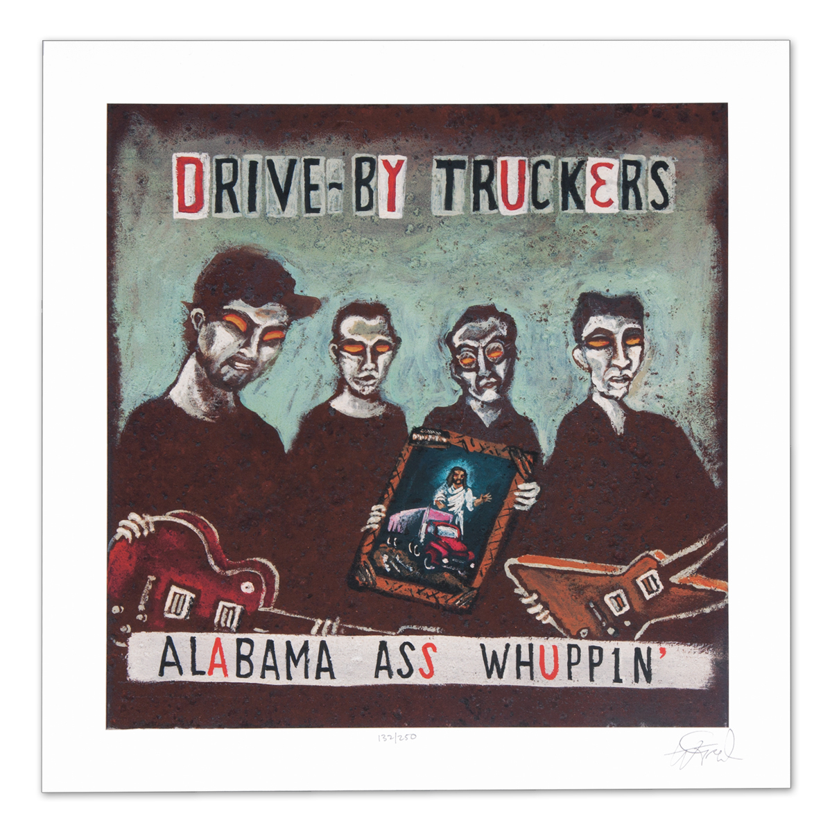 Drive-By Truckers Alabama Ass Whuppin' Print