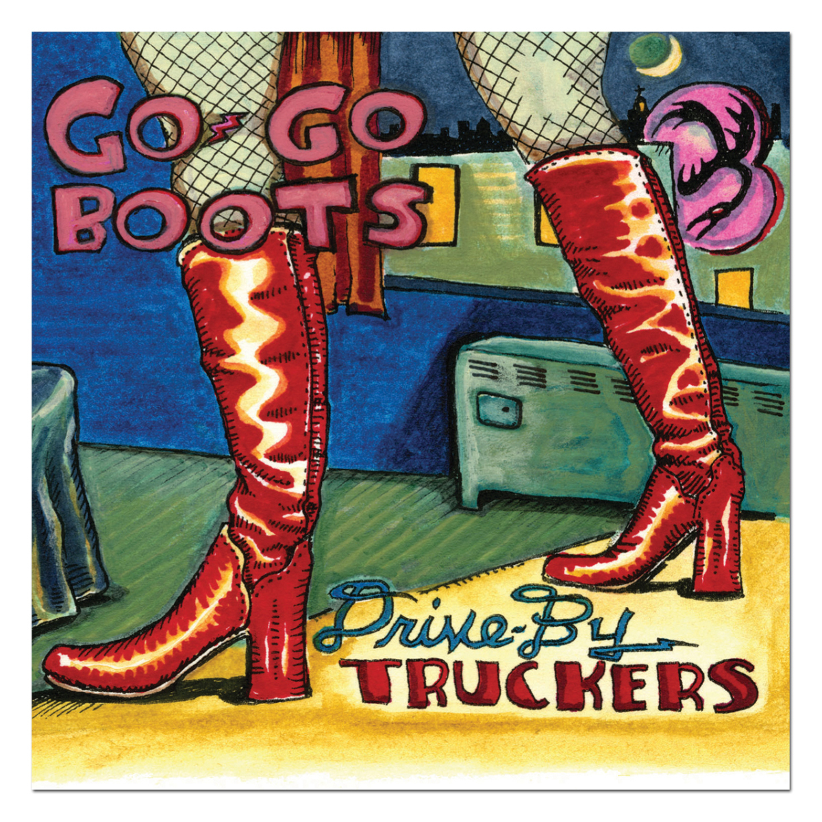Drive-By Truckers Go-Go Boots CD