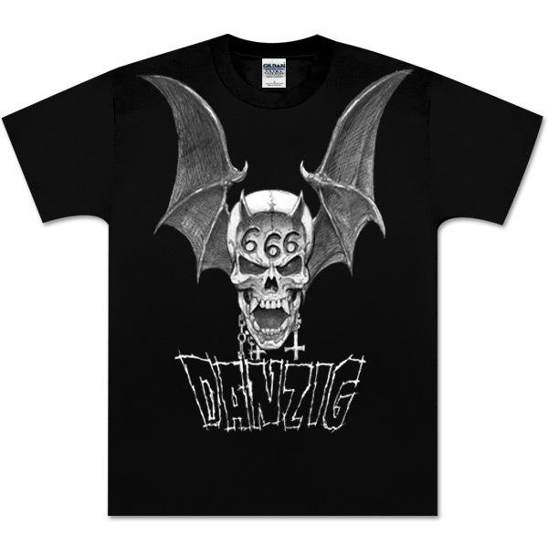 Danzig 666 Skull Tee