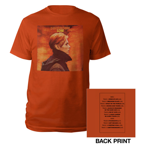 David Bowie Low Tee