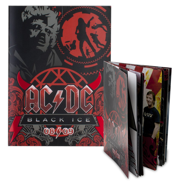 AC/DC Black Ice Tour Program