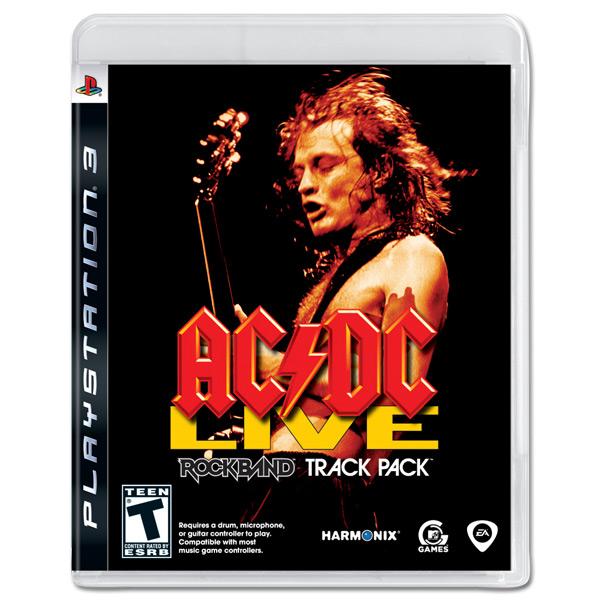 AC/DC Live RockBand Track Pack - PS3