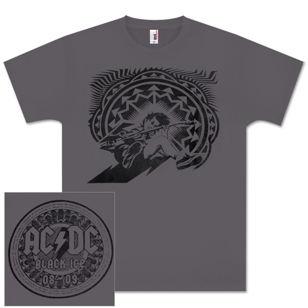 AC/DC Angus Charicature B.I. Tour Tee