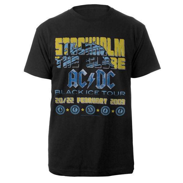 AC/DC Stockholm T-Shirt