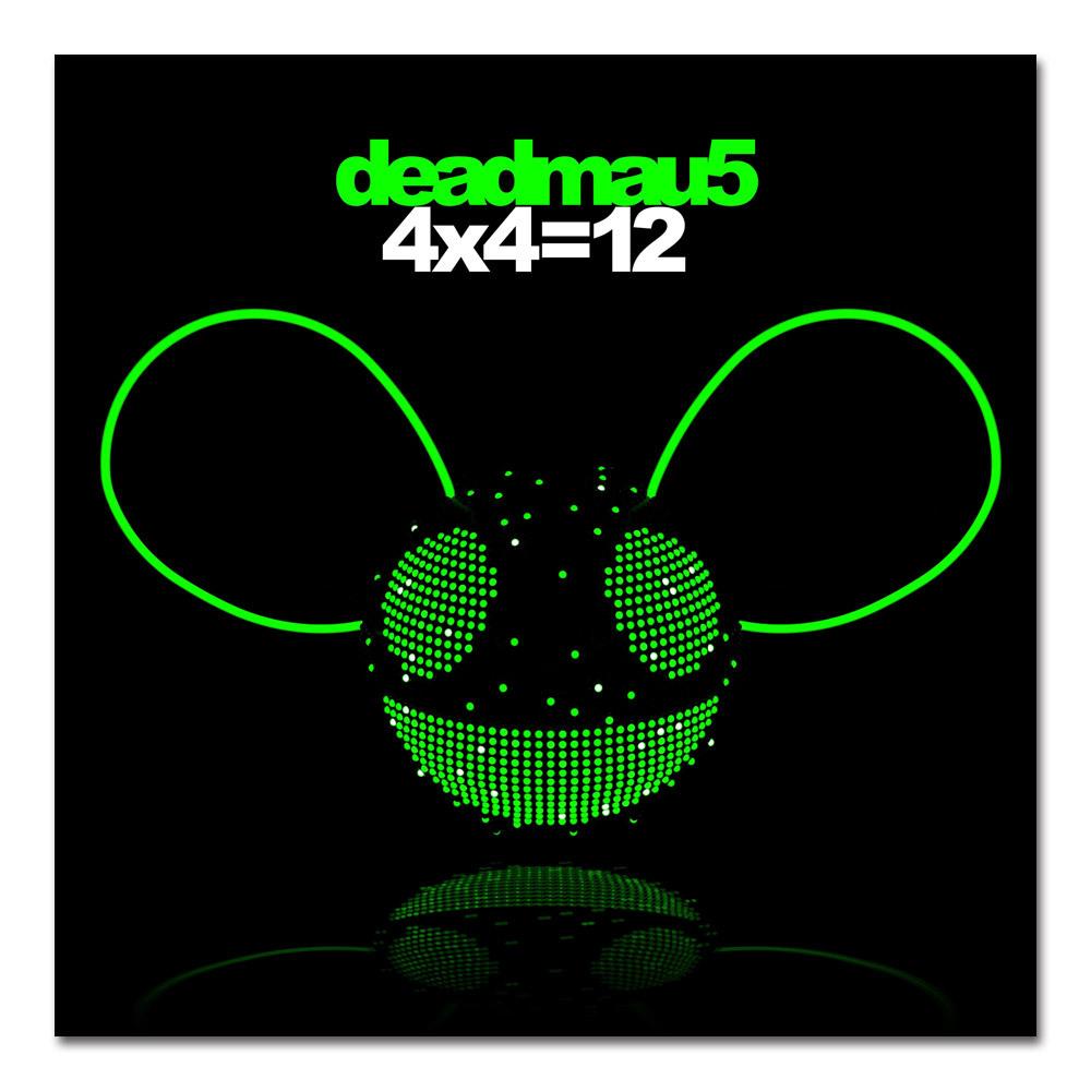 deadmau5 4x4=12 CD
