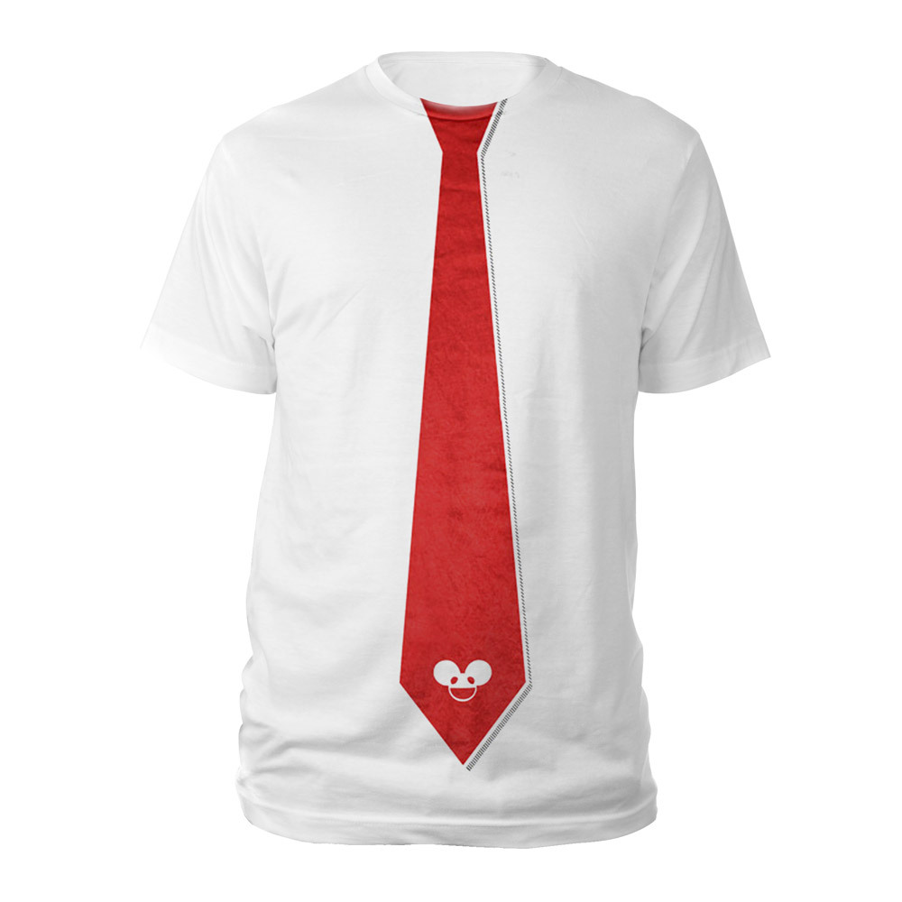 deadmau5 Red Tie Tee
