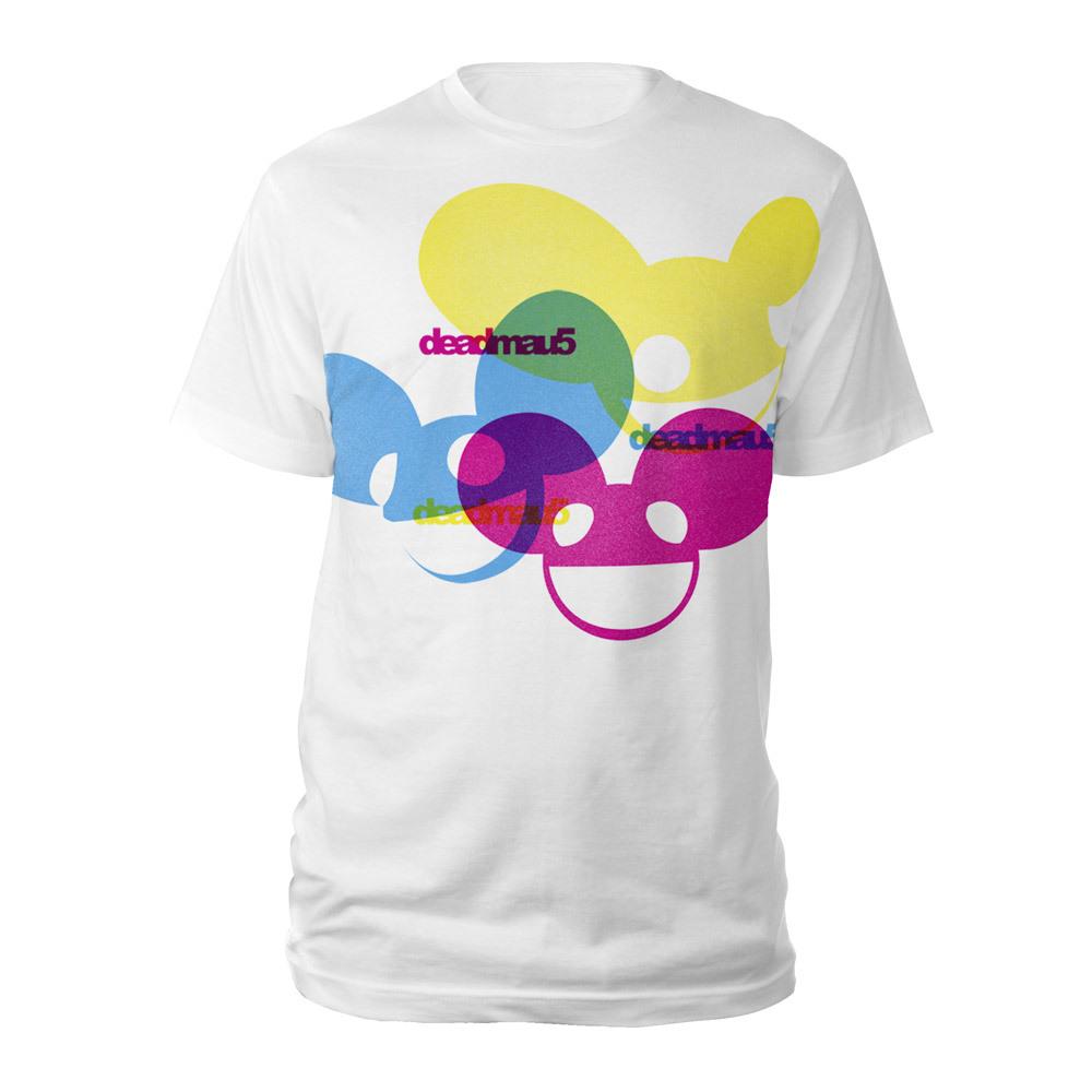 deadmau5 Color Logos Tee