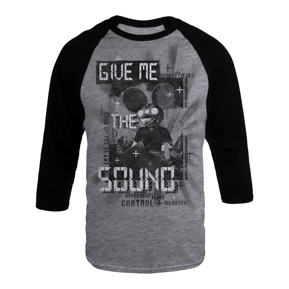 deadmau5 Give Me The Sound Raglan