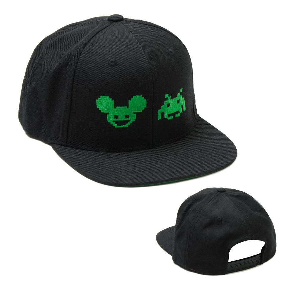 deadmau5 Space Invaders Icons Hat