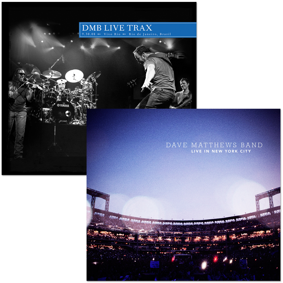 DMB Live In New York City and Live Trax Vol. 19 CDs