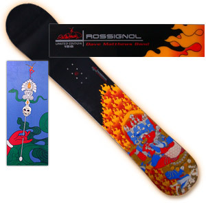Rossignol Dave Matthews Band Limited Edition Stefan Lessard Signature Snowboard (without bindings)