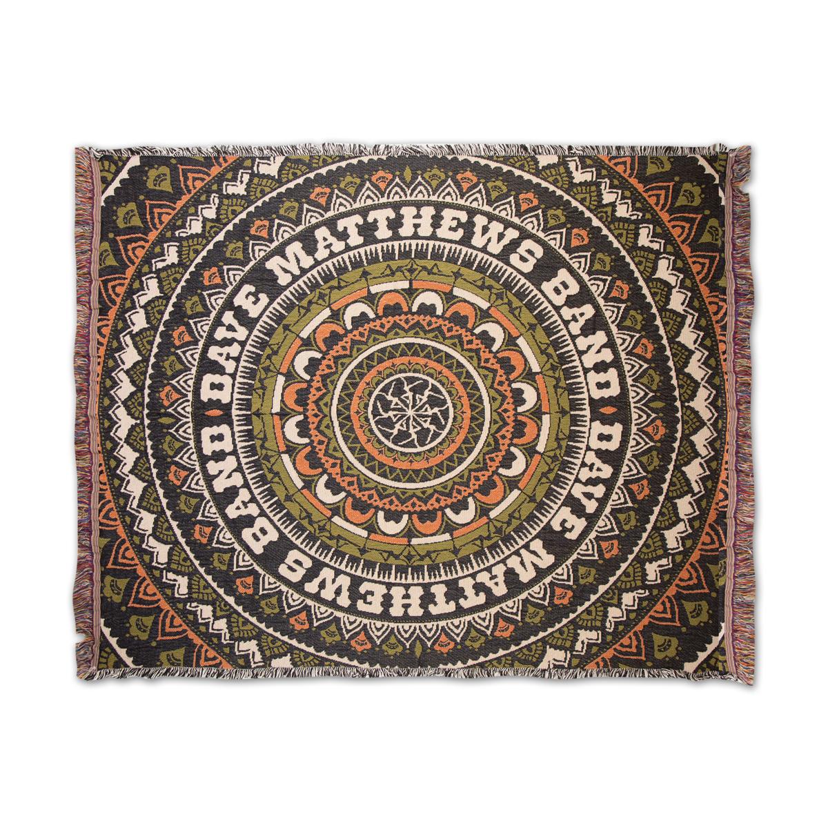 Firedancer Mandala Throw Blanket