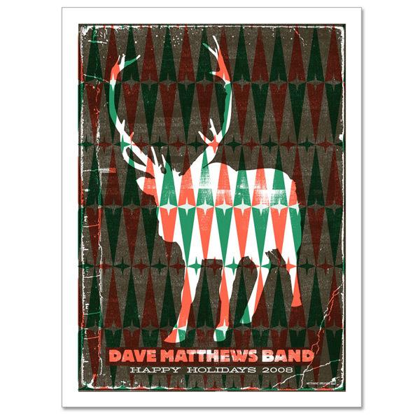 DMB Reindeer Poster