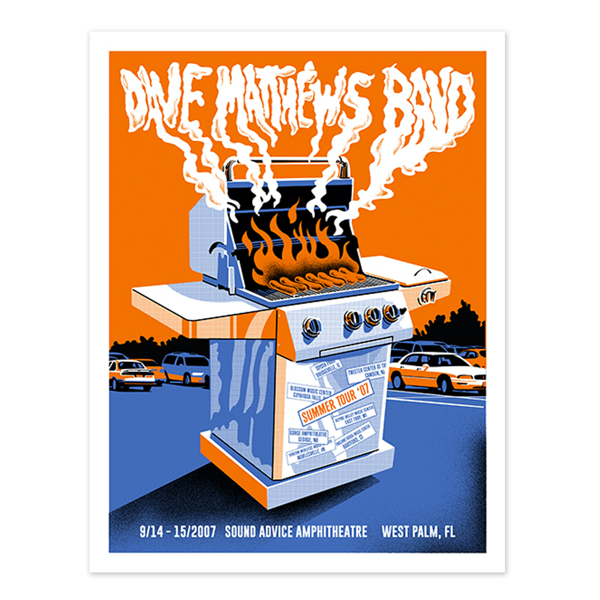 DMB Live Trax 42 Poster