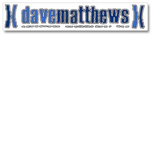 Dave Matthews XX Sticker