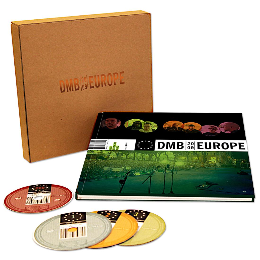 DMB Europe 2009 Box Set