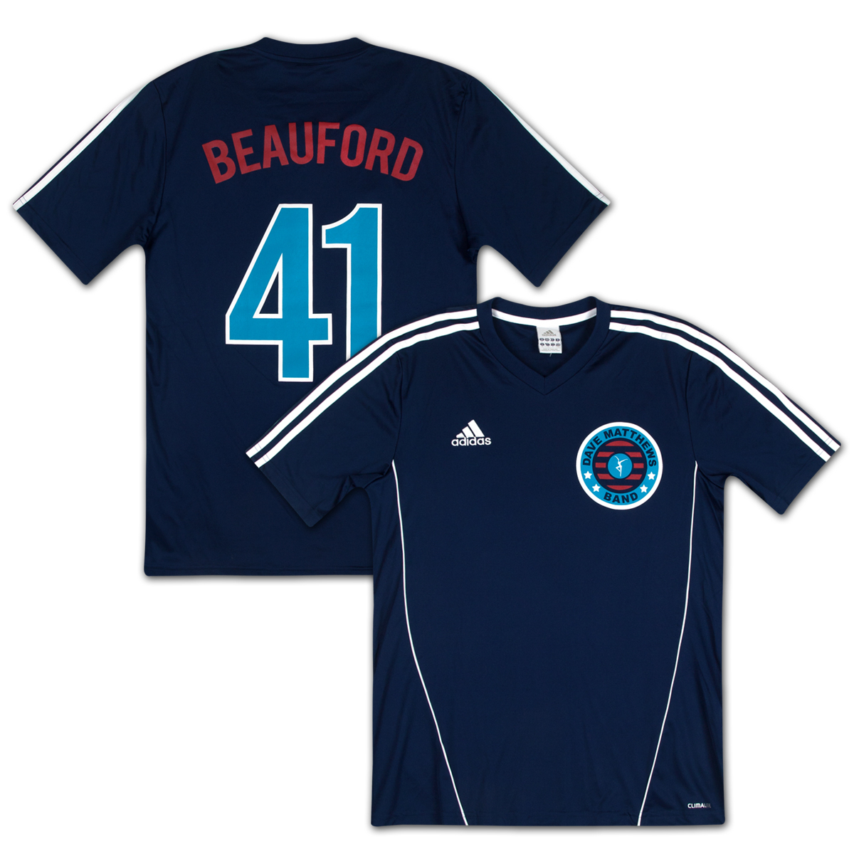 DMB 2013 Adidias Beauford Soccer Jersey