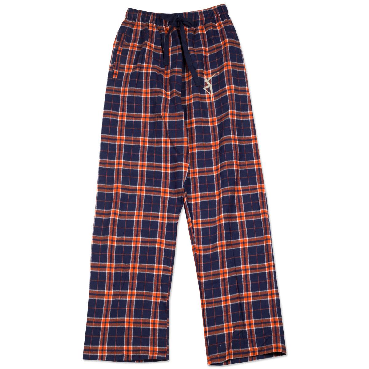 DMB Flannel Firedancer PJ Pants - Navy/Orange