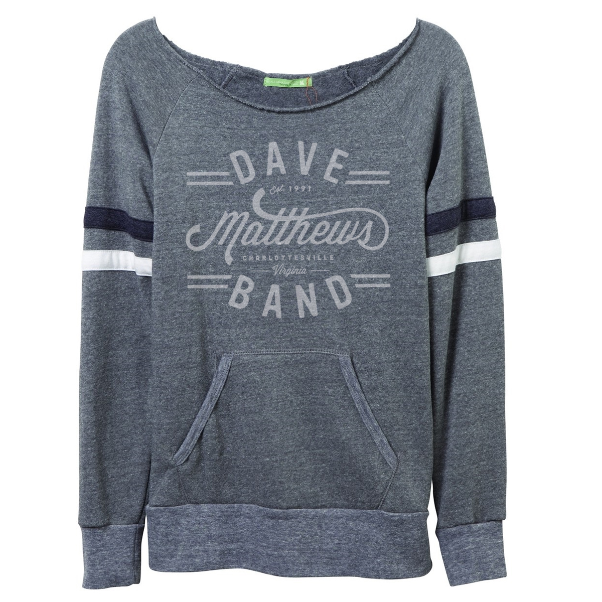 Dmb Script Logo Flashdance Sweatshirt Shop The
