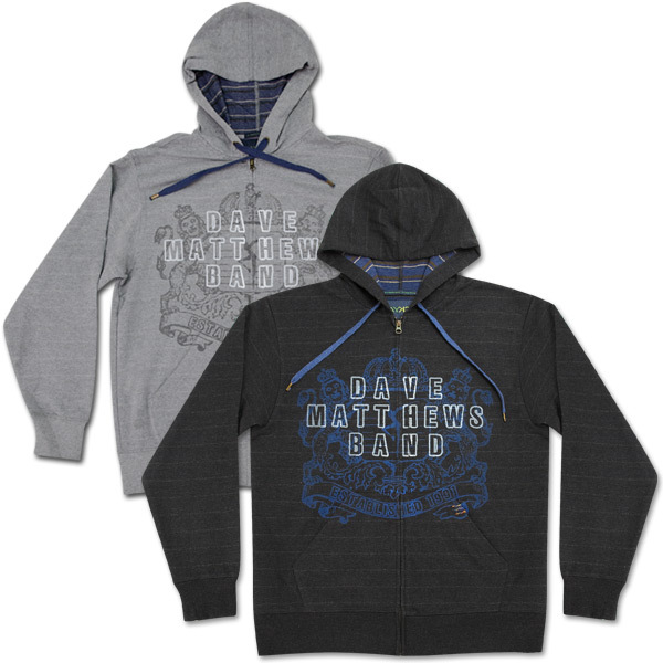 DMB Crest logo Recycled Cotton Hoodie