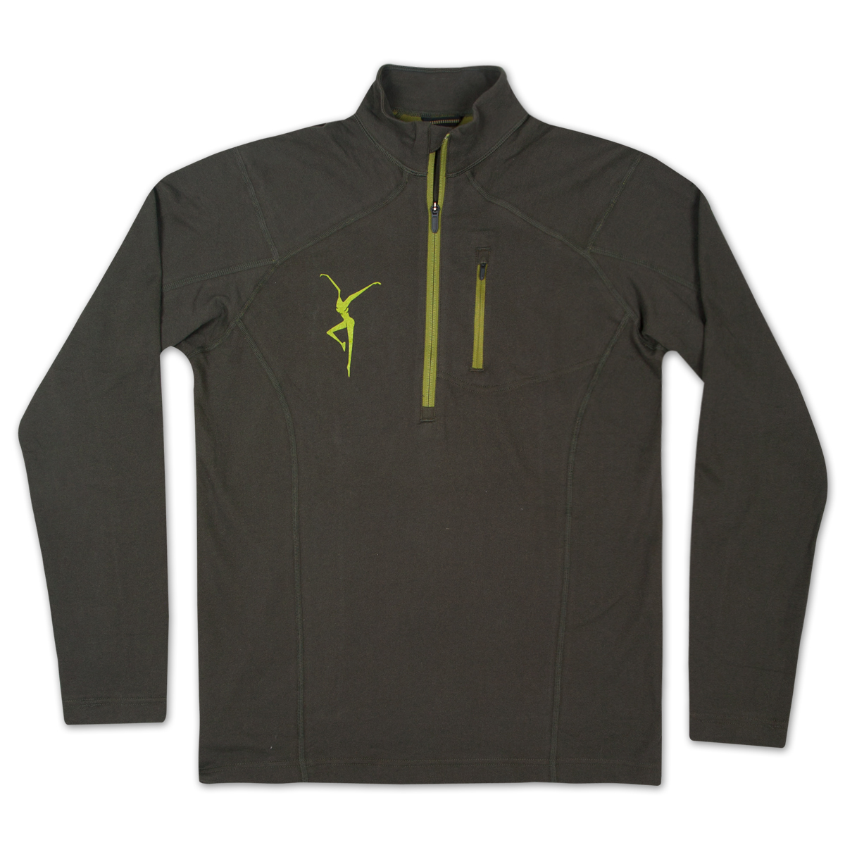 Men's Mountain Hardwear Cragger Lonsleeved Zip Up Shirt