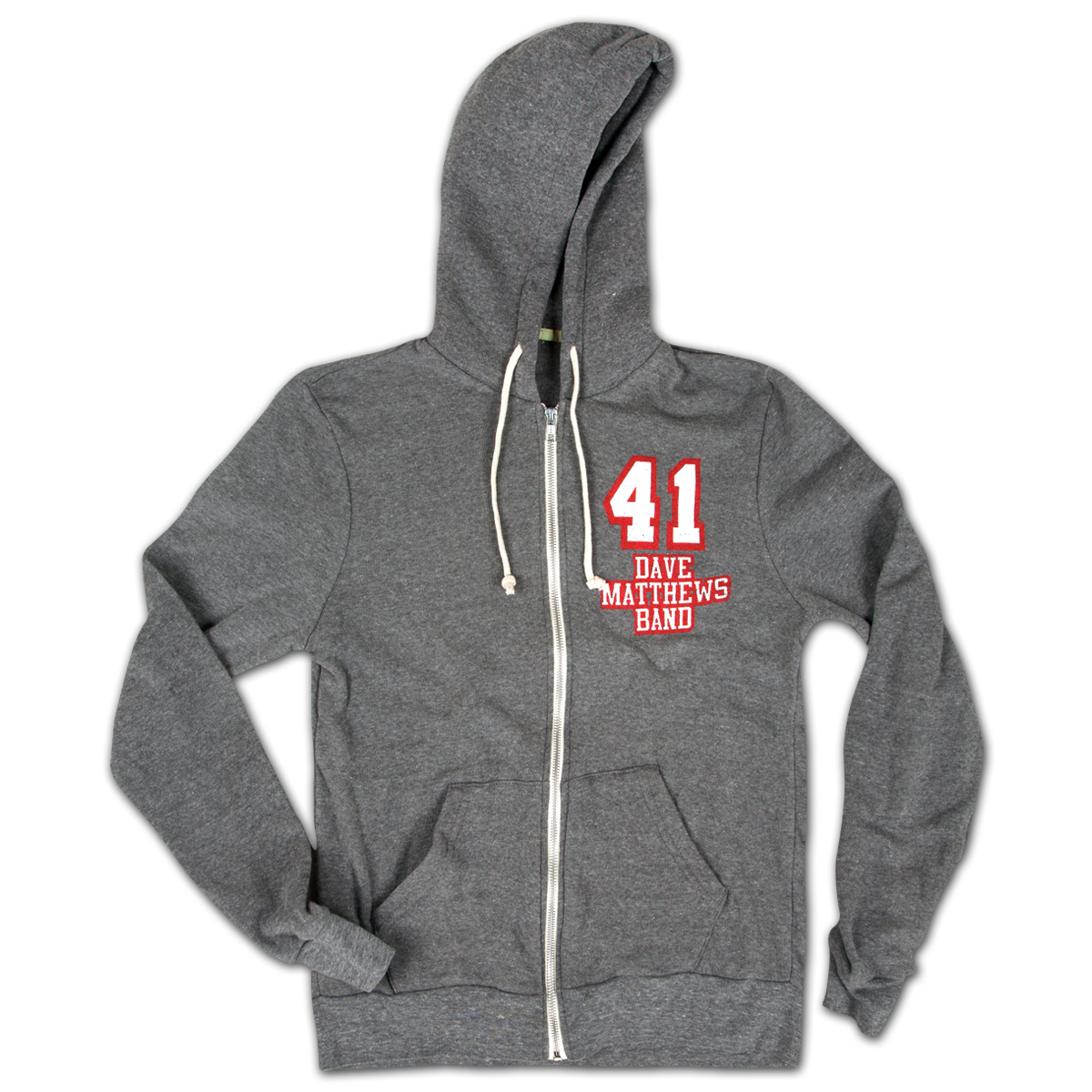 DMB #41 Heather Grey Hoody