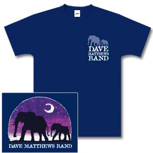 DMB Navy Elephant Shirt
