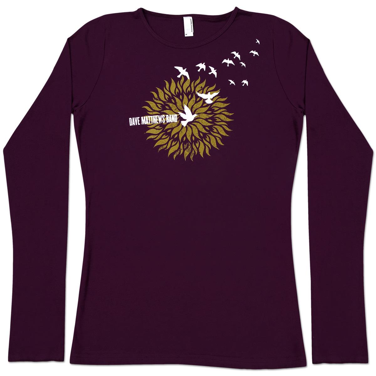 DMB Gold Flower Longsleeve Shirt
