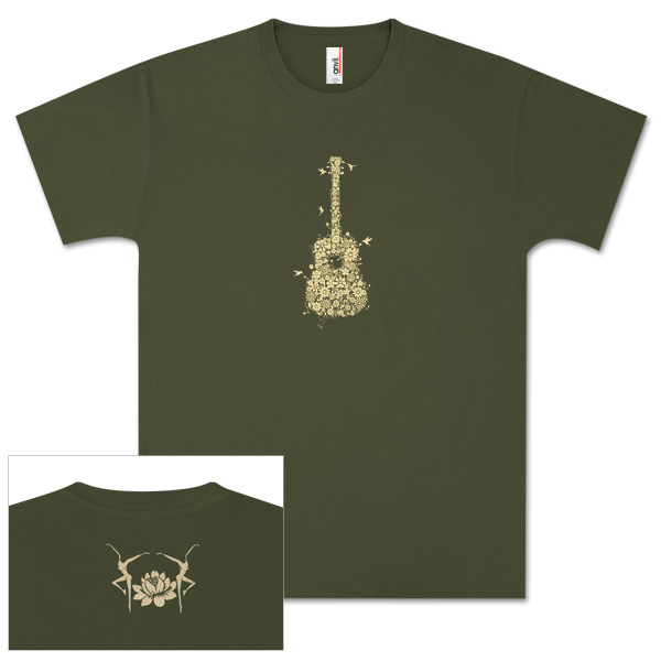 DMB Flower Guitar Shirt