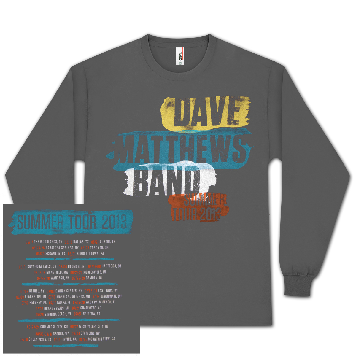 DMB 2013 Long-Sleeve Tour Shirt