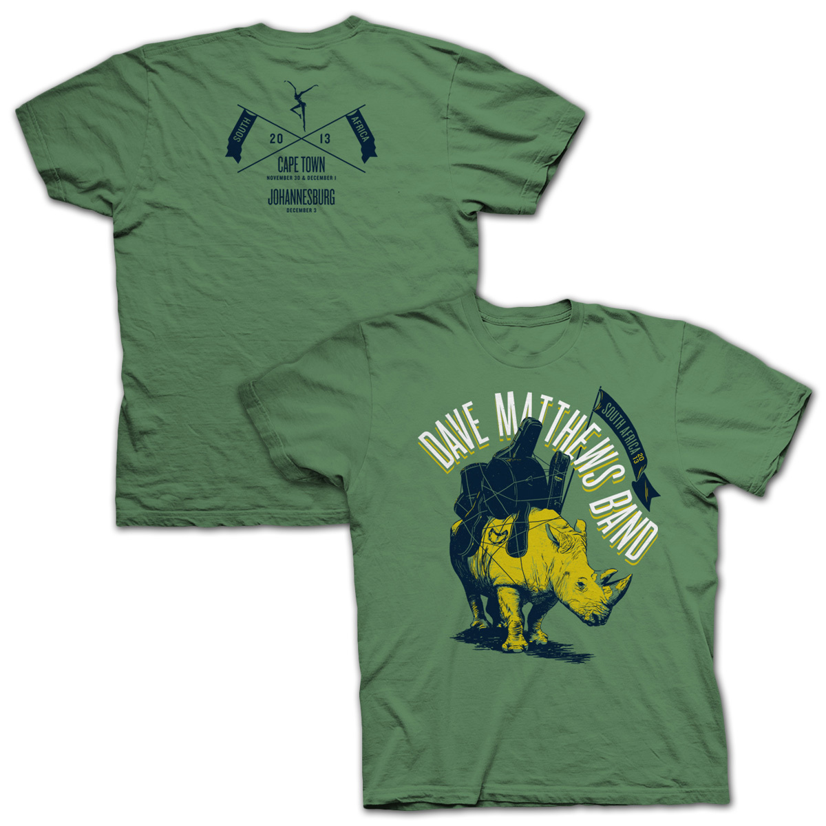 DMB South Africa Event Tee