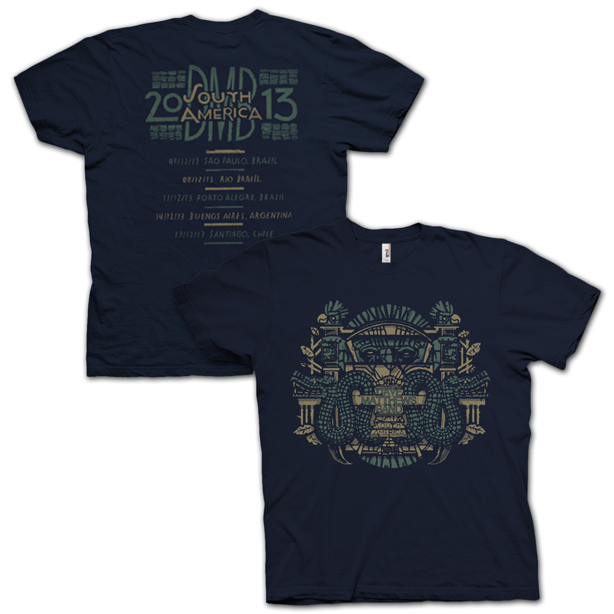 DMB South America Event Tee
