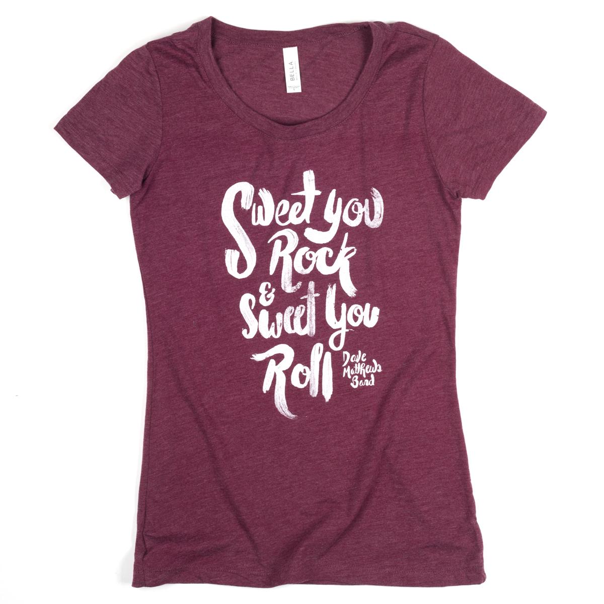 """DMB Women's """"Sweet You Rock"""" Logo Tee"""