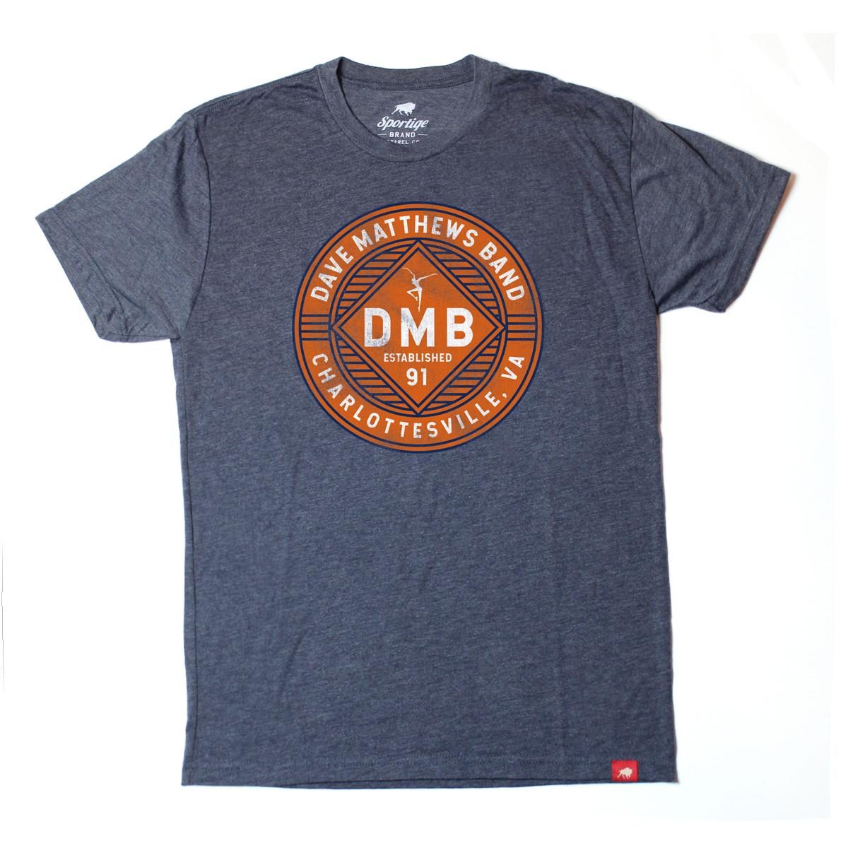 Navy DMB T-shirt