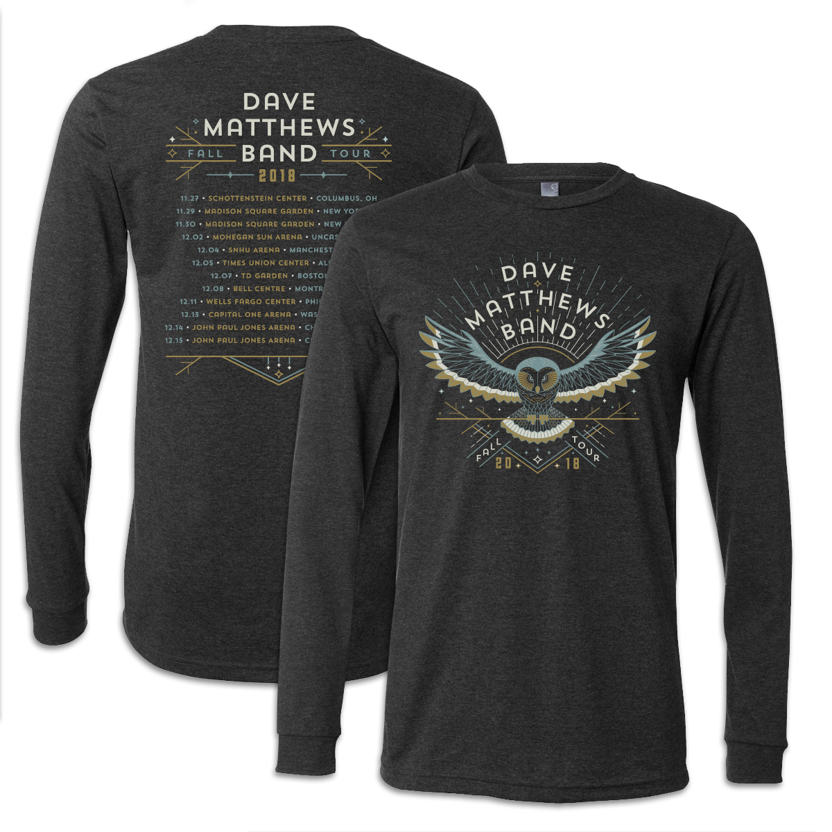 2018 Fall Tour Long Sleeve T-Shirt