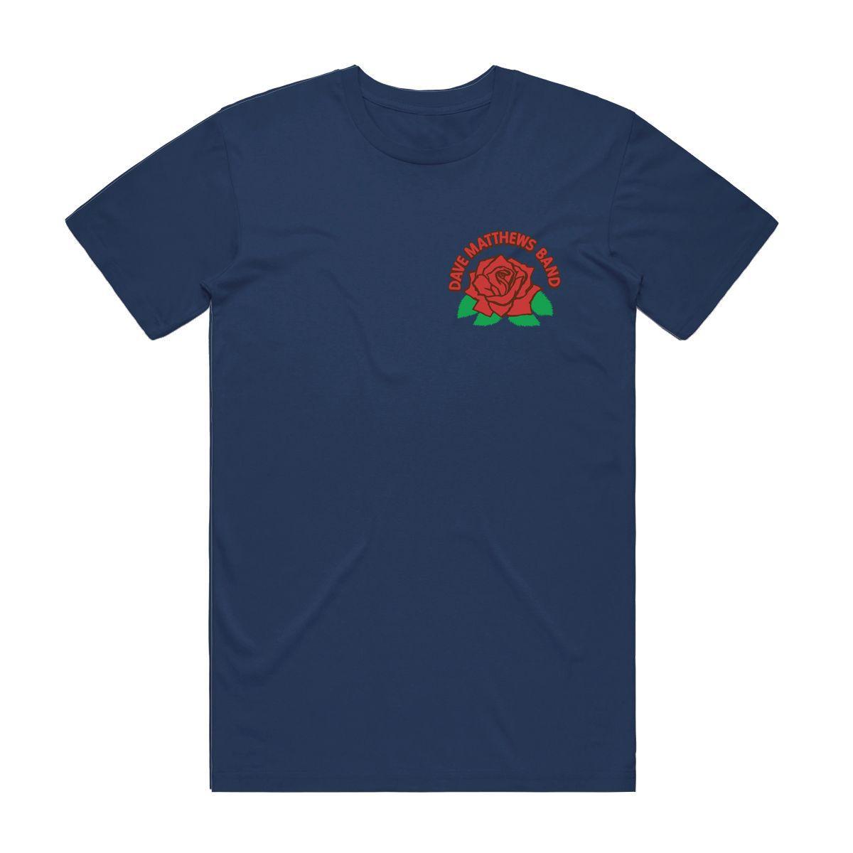 DMB Rose Tee - Navy